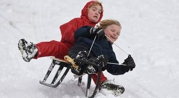 Where to go sledging in Cambridgshire