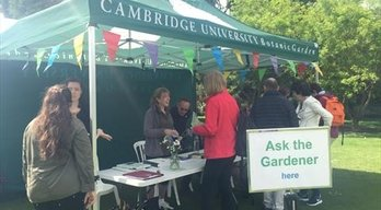 Cambridge University Botanic Garden Festival of Plants - Saturday 18th May